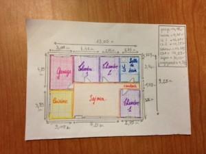 Plan Maison Papier